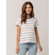 RVCA Recess Blue Womens Tee