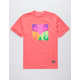 GRIZZLY Prism Coral Mens T-Shirt