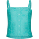 FULL TILT Lace Overylay Girls Corset Top