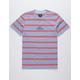 HUF Golden Gate Blue Mens T-Shirt