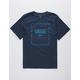 VANS Print Box navy Boys T-Shirt