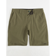 O'NEILL Loaded Olive Boys Hybrid Shorts