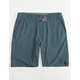RIP CURL Mirage Boardwalks Blue Mens Hybrid Shorts