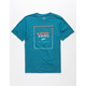 VANS Print Box Gradient Boys T-Shirt