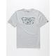 VANS Full Patch Heather Grey Boys T-Shirt