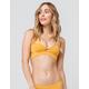 TAVIK Jessi Yellow Triangle Bikini Top