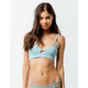 TAVIK Jessi Cloud Blue Triangle Bikini Top
