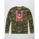 HUF Classic H Lips Camo Mens T-Shirt