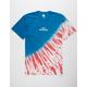 HUF Flag Tie Dye Mens T-Shirt