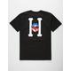 HUF Classic H Lips Mens T-Shirt