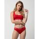 CALVIN KLEIN Modern Cotton Red Womens Bikini