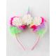 FULL TILT Rainbow Unicorn Cat Ears