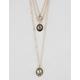 FULL TILT 2 Pack Moon Stone Necklaces
