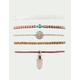 FULL TILT 5 Pack Crystal & Braid Bracelets