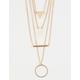 FULL TILT Crystal & Bar Layered Necklace