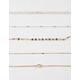 FULL TILT 5 Pack Heart & Beaded Choker Necklaces