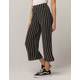IVY & MAIN Stripe Wide Leg Womens Crop Pants