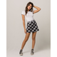 IVY & MAIN Plaid Mini Skirt