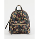 T-SHIRT & JEANS Faux Leather Floral Mini Backpack
