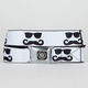 BUCKLE-DOWN Caddie Sunglass Mustache Buckle Belt
