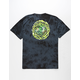PRIMITIVE x Rick And Morty Nuevo Portal Wash Mens T-Shirt