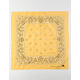 Paisley Yellow Bandana