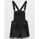 CELEBRITY PINK Frayed Girls Denim Shortalls
