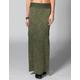 FULL TILT Mineral Wash Maxi Skirt