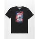 FILA Tropic Logo Black Boys T-Shirt