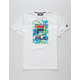 FILA Tropic Logo White Boys T-Shirt