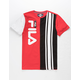 FILA Heritage Color Block Boys T-Shirt