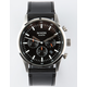 NIXON Freemont Chrono Black Leather Watch