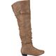 DE BLOSSOM Firenze Womens Over The Knee Boots