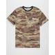 VANS Desert Camo Ringer Mens T-Shirt