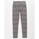 WHITE FAWN Plaid Girls Leggings
