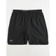 UNDER ARMOUR Qualifier Black Mens Shorts