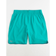 UNDER ARMOUR Qualifier Teal Blue Mens Shorts