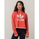 ADIDAS Active Icons Coral Womens Crop Hoodie