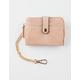 VIOLET RAY Zip Around Blush Wallet