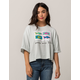 MAUI AND SONS Argo Womens Crop Tee