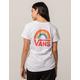 VANS Rainbow Womens Tee