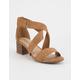 SODA Handle Womens Heeled Sandals