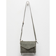 VIOLET RAY Leanna Perforated Olive Crossbody Bag