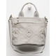 Maddy Gray Mini Satchel Bag