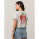 FULL TILT New York City Womens Crop Sweatshirt Tee