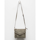 VIOLET RAY Leanna Whipstitch Olive Crossbody Bag
