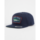 SALTY CREW Mossback Blue Mens Snapback Hat