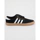 ADIDAS Seeley Black & Gum Shoes
