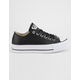 CONVERSE Chuck Taylor All Star Lift Faux Leather Womens Low Top Shoes