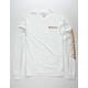 QUIKSILVER Twin Fin White Mens T-Shirt
